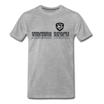 VIRGINIA BEACH DESTROYERS MEN'S PREMIUM TEE - heather gray