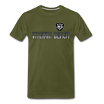 VIRGINIA BEACH DESTROYERS MEN'S PREMIUM TEE - olive green