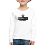 VIRGINIA BEACH DESTROYERS KID'S PREMIUM LONG SLEEVE SWEATER - white