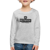 VIRGINIA BEACH DESTROYERS KID'S PREMIUM LONG SLEEVE SWEATER - heather gray