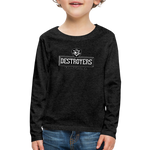 VIRGINIA BEACH DESTROYERS KID'S PREMIUM LONG SLEEVE SWEATER - charcoal gray