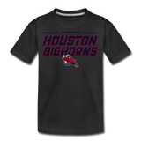 HOUSTON BIGHORNS KID'S PREMIUM TEE - black