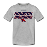HOUSTON BIGHORNS KID'S PREMIUM TEE - heather gray