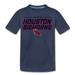HOUSTON BIGHORNS KID'S PREMIUM TEE - navy