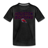 HOUSTON BIGHORNS KID'S PREMIUM TEE - charcoal gray