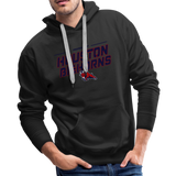 HOUSTON BIGHORNS MEN'S PREMIUM HOODIE - black