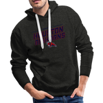 HOUSTON BIGHORNS MEN'S PREMIUM HOODIE - charcoal gray