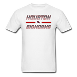 HOUSTON BIGHORNS UNISEX TEE - white