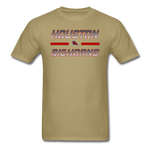 HOUSTON BIGHORNS UNISEX TEE - khaki