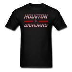 HOUSTON BIGHORNS UNISEX TEE - black