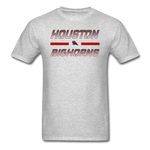 HOUSTON BIGHORNS UNISEX TEE - heather gray