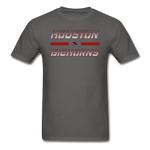 HOUSTON BIGHORNS UNISEX TEE - charcoal