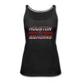 HOUSTON BIGHORNS WOMEN'S PREMIUM TANK - black