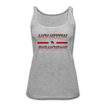 HOUSTON BIGHORNS WOMEN'S PREMIUM TANK - heather gray
