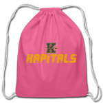 KANSAS CITY KAPITALS COTTON DRAWSTRING BAG - pink