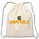 KANSAS CITY KAPITALS COTTON DRAWSTRING BAG - natural