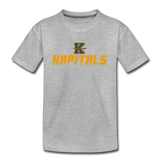KANSAS CITY KAPITALS KID'S PREMIUM TEE - heather gray