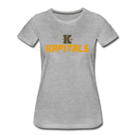 KANSAS CITY KAPITALS WOMEN'S PREMIUM TEE - heather gray