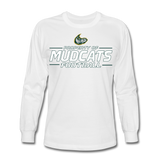 MISSISSIPPI MUDCATS MEN'S LONG SLEEVE TEE - white