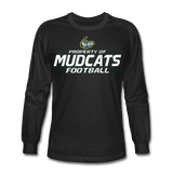 MISSISSIPPI MUDCATS MEN'S LONG SLEEVE TEE - black