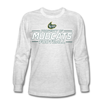 MISSISSIPPI MUDCATS MEN'S LONG SLEEVE TEE - light heather gray