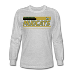 MISSISSIPPI MUDCATS MEN'S LONG SLEEVE TEE - heather gray