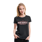 VIRGINIA IRON HORSES WOMEN'S PREMIUM TEE - black