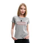 VIRGINIA IRON HORSES WOMEN'S PREMIUM TEE - heather gray