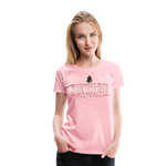 VIRGINIA IRON HORSES WOMEN'S PREMIUM TEE - pink