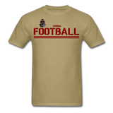VIRGINIA IRON HORSES UNISEX TEE - khaki