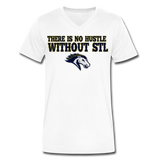 ST LOUIS STAMPEDE SPECIALTY MEN'S V-NECK TEE - white