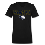 ST LOUIS STAMPEDE SPECIALTY MEN'S V-NECK TEE - black
