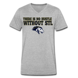 ST LOUIS STAMPEDE SPECIALTY MEN'S V-NECK TEE - heather gray