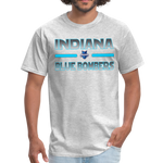 INDIANA BLUE BOMBERS UNISEX TEE - heather gray