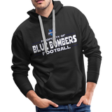 INDIANA BLUE BOMBERS MEN'S PREMIUM HOODIE - black