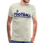 INDIANA BLUE BOMBERS MEN'S PREMIUM TEE - heather oatmeal