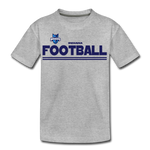 INDIANA BLUE BOMBERS KID'S PREMIUM TEE - heather gray