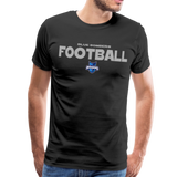 INDIANA BLUE BOMBERS MEN'S PREMIUM TEE - black