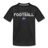 INDIANA BLUE BOMBERS KID'S PREMIUM TEE - black