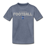 INDIANA BLUE BOMBERS KID'S PREMIUM TEE - heather blue