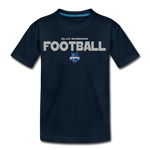 INDIANA BLUE BOMBERS KID'S PREMIUM TEE - deep navy