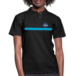 INDIANA BLUE BOMBERS WOMEN'S PIQUE POLO - black