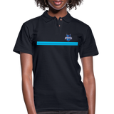 INDIANA BLUE BOMBERS WOMEN'S PIQUE POLO - midnight navy