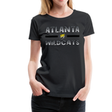 ATLANTA WILDCATS WOMEN'S PREMIUM TEE - black