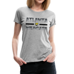 ATLANTA WILDCATS WOMEN'S PREMIUM TEE - heather gray