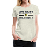 ATLANTA WILDCATS WOMEN'S PREMIUM TEE - heather oatmeal