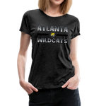 ATLANTA WILDCATS WOMEN'S PREMIUM TEE - charcoal gray