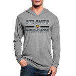 ATLANTA WILDCATS UNISEX TRI-BLEND LONG SLEEVE - heather gray