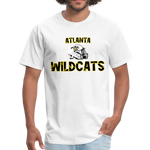ATLANTA WILDCATS UNISEX TEE - white