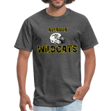 ATLANTA WILDCATS UNISEX TEE - heather black